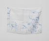Sidsel Meineche Hansen. double bedroom, 2021. Methylene blue on silk. 33 x 46,5 cm. June Art Fair, Basel, 2021. Christian Andersen, Copenhagen